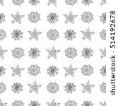 seamless pattern with cute...   Shutterstock .eps vector #514192678