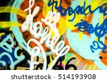 Street Art   Colorful Graffiti...