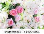 flower with  wedding flowers | Shutterstock . vector #514207858