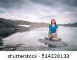 yoga outdoors | Shutterstock . vector #514228138
