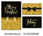 vector christmas and new year... | Shutterstock .eps vector #514243048