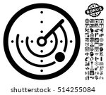 radar pictograph with bonus... | Shutterstock .eps vector #514255084