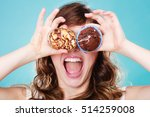 bakery  sweet food and... | Shutterstock . vector #514259008