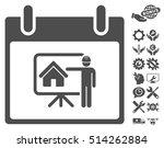 realty developer calendar day... | Shutterstock .eps vector #514262884
