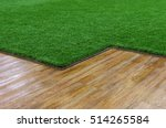 Artificial Grass And Wooden...