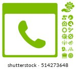 phone calendar page pictograph... | Shutterstock .eps vector #514273648