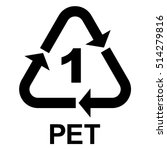 Plastic Recycle Symbol Pet 1 ...