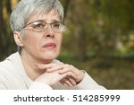close up portrait of lovely... | Shutterstock . vector #514285999