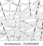abstract architectural design | Shutterstock .eps vector #514301869