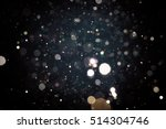 abstract blur black bokeh... | Shutterstock . vector #514304746