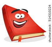 red book character ... | Shutterstock .eps vector #514310224