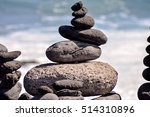 photo picture stack of stones... | Shutterstock . vector #514310896