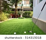 home golf course  architecture... | Shutterstock . vector #514315018