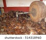 Millstone Crushing The Maguey...