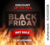 black friday promo vector... | Shutterstock .eps vector #514320538