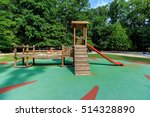 Childrens Playground Area In...