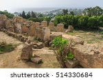 landscape of ancient ruins of... | Shutterstock . vector #514330684