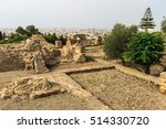 landscape of ancient ruins of... | Shutterstock . vector #514330720