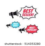 best seller  must have   most... | Shutterstock .eps vector #514353280