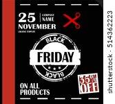 black friday  big sale ... | Shutterstock .eps vector #514362223
