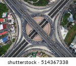 road traffic in city at... | Shutterstock . vector #514367338