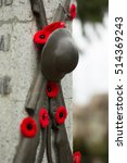 Remembrance Day In Canada. Red...