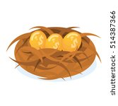 Dollar Sign Nest Eggs From The...