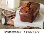 Chocolate Banana Loaf Cake On...