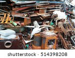 junk yard | Shutterstock . vector #514398208