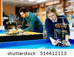 engineering and robotics... | Shutterstock . vector #514412113