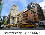 new york city   may 7  2013 ... | Shutterstock . vector #514418374