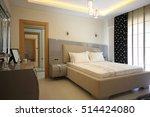 modern bedroom | Shutterstock . vector #514424080