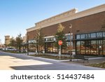 supermarket in suburban area | Shutterstock . vector #514437484