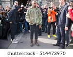 paris march 4  2015. kanye west ...