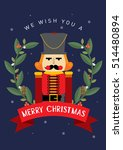 nutcracker christmas greeting