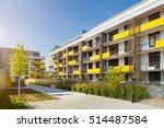 modern block of flats   Shutterstock . vector #514487584
