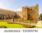 santa barbara gardens of braga  ... | Shutterstock . vector #514504744