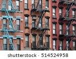 manhattan lower east side... | Shutterstock . vector #514524958