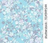seamless watercolor pattern... | Shutterstock . vector #514549144