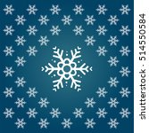 merry christmas symbol icon.... | Shutterstock .eps vector #514550584