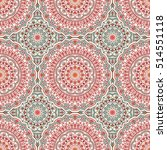 seamless pattern. hand drawn... | Shutterstock .eps vector #514551118