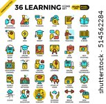 learning  education concept ... | Shutterstock .eps vector #514562284