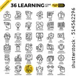 learning  education concept ... | Shutterstock .eps vector #514562296