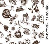 vector illustration sketch... | Shutterstock .eps vector #514566004