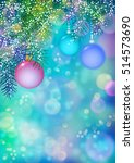 abstract colorful vector... | Shutterstock .eps vector #514573690
