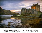 Cloudy Sunset At Eilean Donan...