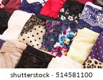 colorful stylish panties... | Shutterstock . vector #514581100