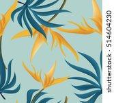 seamless vector pattern  ... | Shutterstock .eps vector #514604230