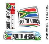 vector logo south africa  3...   Shutterstock .eps vector #514614553