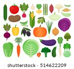 colorful collection of cute...   Shutterstock .eps vector #514622209